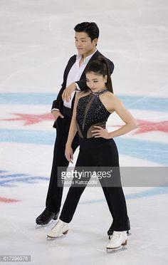 News Photo : Maia Shibutani and Alex Shibutani of USA compete...