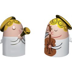 Alessi Angels Band Set 1 Nativity Figurines