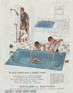 Ever wonder about the history of the bathroom. This article will give you some insights