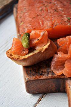 Gravlax (Cykl: do chleba) | Kuchnia w zieleni