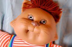 80s toys Cabbage Patch Kid Koosa Cat Coleco Vintage Retro