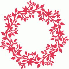 Silhouette Online Store: intricate wreath