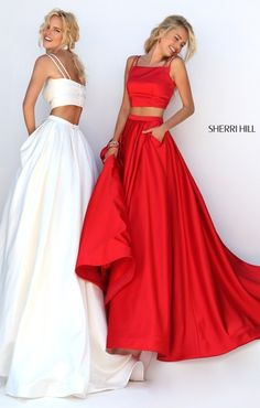 prom dresses two piece