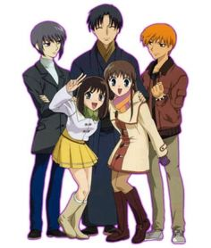 There are no riceballs in our fruits basket. <3