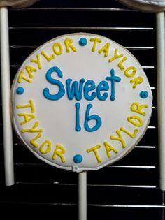 Happy Sweet 16 Taylor!