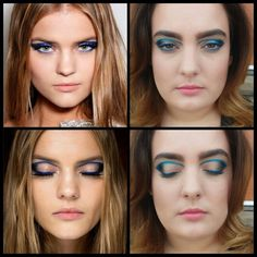 My recreation of a makeup look from the Atelier Versace Spring 2015 Couture Show