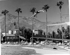 Hollywood Film Locations Palm Springs and Coachella Valley Palm Springs Mid Century Modern, Ps I Love You, Coachella Valley, Hotel Motel, Back In Time, Filming Locations, Mid-century Modern, Relax, Street View