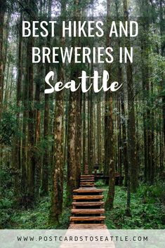 Seattle is full of beautiful places to hike and plenty of places to drink beer. Here are 5 amazing hikes and brewery combinations around Seattle! Seattle Hiking, Seattle Vacation, Seattle Travel, Italy Vacation, Seattle Sightseeing, Oh The Places You'll Go, Cool Places To Visit, Places To Travel, Travel Destinations