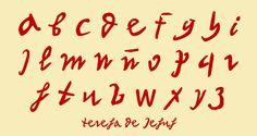 Letra de Santa Teresa de Jesús