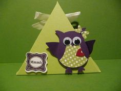 Kleine Geschenkbox,Geschenk, Karte von Schönes aus Stempel und Papier auf DaWanda.com