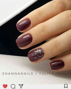 50 sexy dark nails designs you should try in autumn and wint.- 50 sexy dark nails designs you should try in autumn and winter Gelegentliche Nageldesigns – Nagel 50 sexy dark nails designs you should try in autumn and winter Gelegentliche Nageldesigns - Burgundy Nail Designs, Dark Nail Designs, Burgundy Nails, Nail Art Designs, Nails Design, Burgundy Wine, Pedicure Designs, Maroon Nails, Red Burgundy