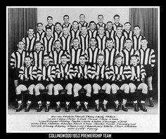 Collingwood Football Club - 1953 Premiership team