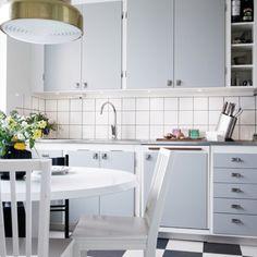 Swedish kitchen à la 60's.