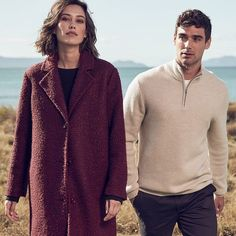 Perfect for the colder seasons, the burgundy boucle jacket will be one that will be on trend for seasons to come. Targeted Advertising, Boucle Jacket, Marketing Communications, Winter Coat, Get The Look, Knitwear, Burgundy, Men Sweater, Australia