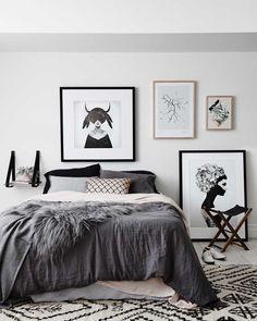 Dormitorios con mucho 'charme'