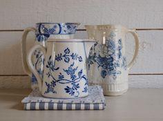 Antique pitchers