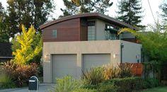 15 Detached Modern and Contemporary Garage Design Inspiration