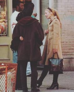 """Carolyn Bessette Kennedy on Instagram: """"A N E W Y O R K L A D Y • • • @prada coat & bag....Alice head-band for the win. Thanks UC page for the share. XO"""" Carolyn Bessette Kennedy, Prada, Fur Coat, Alice, Thankful, Bags, December 12, Instagram, York"""