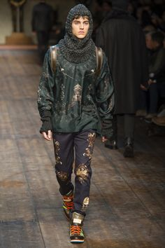 Dolce Gabbana, F/W 2014/2015, Menswear, Milan