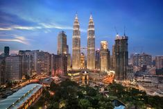 Petronas Towers in Kuala Lumpur, Malaysia were the world's tallest buildings until They are still the world's tallest twin buildings joined by a sky bridge at and floors. Gunung Mulu National Park, Kuala Lampur, Kuala Lumpur City, Tioman Island, Genting Highlands, Dubai, Petronas Towers, Sky Bridge, Cameron Highlands