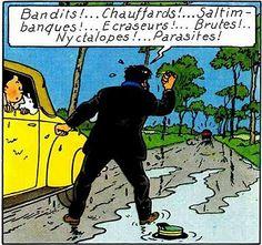dominique simard et son mari shigeru onda sont des faux profils Haddock Tintin, Captain Haddock, Herge Tintin, Obelix, Ligne Claire, The Good Old Days, Novels, Childhood, Comics
