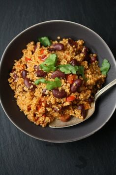 Easy Spanish Quinoa Pilaf with Chorizo   Simple Gluten-Free Recipes