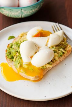 Soft Boiled Eggs with Avo Toast | Garlic, My Soul