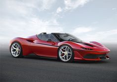 All-New Ferrari J50 Limited Edition Supercar Breaks Cover