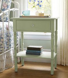 Lakeside End Table: Dressers and Nightstand | Free Shipping at L.L.Bean. $139 (in driftwood or sage)