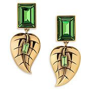 Swarovski Leaves Earrings, Atelier Swarovski by Sandy Powell