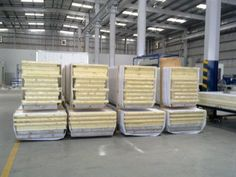 PUF panels are manufactured in a computerised plant and come with Pre-Painted Galvanized Steel Sheets (PPGS), Pre Painted Galvalume Steel Sheets.