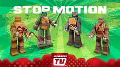 Check out our ‪#‎TMNT‬ Team Ninjas Papercraft Stop Motion Animation Video only on JazwaresTV at https://www.youtube.com/watch?v=y2ZlYC5c1LU