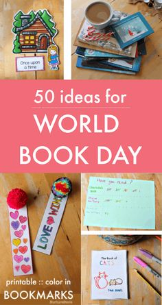 50 easy ideas for World Book Day activities - NurtureStore - 50 easy ideas for World Book Day activities – lessons about books - World Book Day Activities, World Literacy Day, World Book Day Ideas, Reading Games For Kids, Reading Activities, Literacy Activities, Activities For Kids, National Book Day, Book Club Books