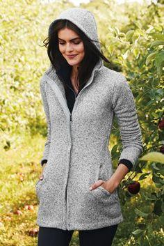 Women's Sweater Fleece Parka from Lands' End