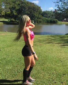 Beautiful day!  Inverno pode ser assim todos os dias!  cardio done!  ________________________________________  #camilamissbikini #bikinicompetition #bikinifitness #teampannain #teamgustavootto #gactionteam #teamgaction #atletabikini #atletagaction #experimenteopoder #gaction #missfitbrasil #fitzeestore  #clinicanewestetic #juproenca #asiangarden #uplayfitness