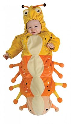Rubies Cute Baby Caterpillar Bug Infant Halloween Costume