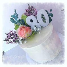 Fresh flower cake for Vicki