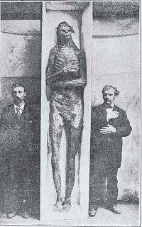 Nephilim Chronicles: Giant Human Skeletons: Giant Human Nephilim Mummified Remains Uncovered in California