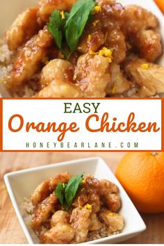 Make this orange chicken recipe for dinner tonight. Easy to make in less than 30 minutes. Orange chicken recipes easy. Chicken recipes for dinner. Easy Chicken Recipes, Easy Dinner Recipes, Easy Meals, Easy Orange Chicken, Recipes From Heaven, Summer Treats, Dinner Tonight, Curry, Favorite Recipes