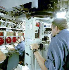 Periscope on a submarine patrol long-range class of Victoria