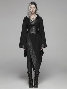 Shop the goth punk,Gothic lolita,Rave clothing and gothic fashion at our punk clothing store.The goth stores offer cheap gothic clothing with highest quality material. Gothic Dress, Gothic Outfits, Gothic Lolita, Punk Dress, Lolita Dress, Dark Fashion, Gothic Fashion, Fashion Women, Latex Fashion