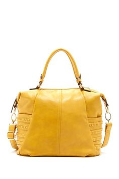yellow summer satchel