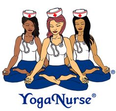 Learn Yoga Nursing for yourself, plus how to be a sought after holistic nurse coach teaching mindfulness based - stress relief for high-paying corporate workplace wellness programs
