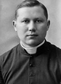 Blessed Jerzy Kaszyra - Polish Catolic priest burned alive by German soldiers 18th Feb 1943