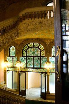 Palau de la Musica Catalana #Modernisme #Barcelona #Catalonia