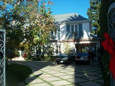 Rosalind Russell's house in Beverly Hills, California