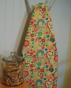 Your place to buy and sell all things handmade Ironing Board Covers, Ironing Boards, Space Crafts, Craft Space, I Shop, My Etsy Shop, Iron Board, Free Spirit, House Warming