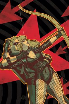 FANDOMSPECTRUM, Green Arrow & Black Canary by Cliff Chiang