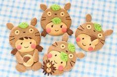 totoro hood cookie