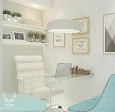 Discover recipes, home ideas, style inspiration and other ideas to try. Doctors Office Decor, Medical Office Decor, Dental Office Design, Home Office Design, Home Office Decor, Design Offices, Modern Offices, Clinic Interior Design, Clinic Design